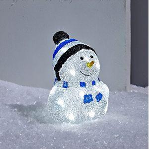 Bonhomme de Neige Lumineux LED de Noël
