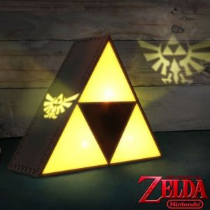 Abysse Corp Lampe USB Zelda Tri-force