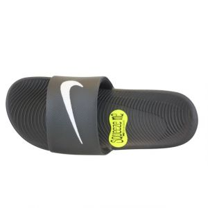 Image de Nike Kawa Slide (GS/PS), Tongs Garçon, Noir (Black/White 001), 40 EU