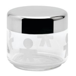 Alessi Pot pour la cuisine Girotondo en verre avec couvercle (50 cl)