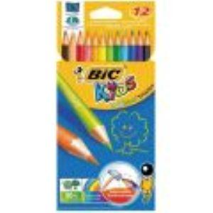 Bic Etui de 12 crayons de couleur Evolution