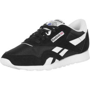Reebok Classic Nylon, 36088 Sneakers Basses, Homme, Multicolore (Schwarz/Weiß), 40.5