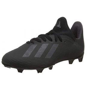 Image de Adidas X 19.3 FG J, Chaussures de Football bébé garçon, Noir
