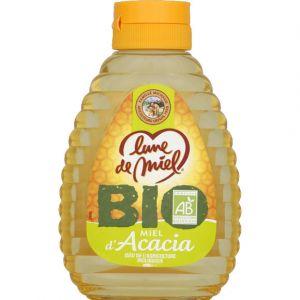 Lune de miel Miel d'acacia, certifié AB - Le flacon de 250g