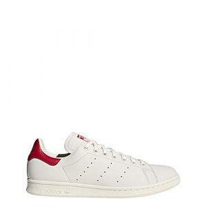 Image de Adidas Stan Smith Homme, Blanc Blatiz/Escarl 000, 46 EU