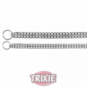 Trixie Collier étrangleur chromé pour chien 45 cm/2,5 mm
