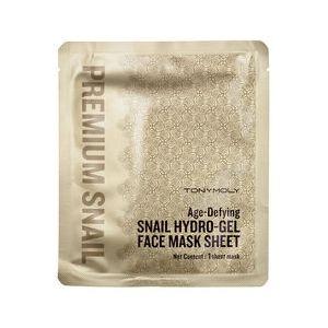 Tonymoly Premium Snail - Masque hydrogel anti-âge à base de bave d'escargot