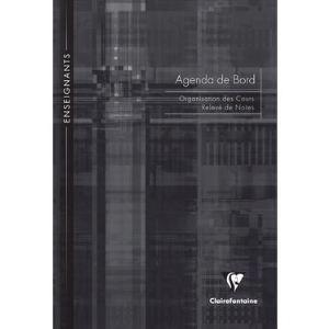 Clairefontaine Agenda cahier de bord pour enseignants 72 pages (A4)