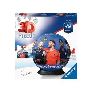 Ravensburger Puzzle 3D Ball 72 pièces - Fédération Française de Football Multicolore