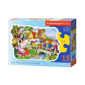 Castorland Puzzle Blanche Neige et les Sept Nains