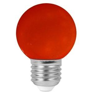 Faro Ampoule LED E27 1W/10W Boule G45 Rouge