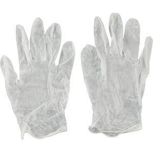 Kwb Gants jetables en vinyle sans couture peut se porter des deux côtés L/9 - 933831