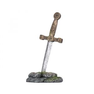 Ebi Décor Épée de Merlin - 8x6x16 cm - Pour aquarium