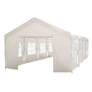 Viva Green Celia 32 m2 - Tente de réception en polyéthylène 4 x 8 x 2,9 m