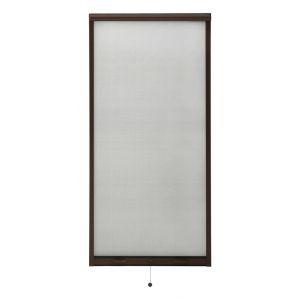 VidaXL Moustiquaire à rouleau pour fenêtres Marron 60x150 cm