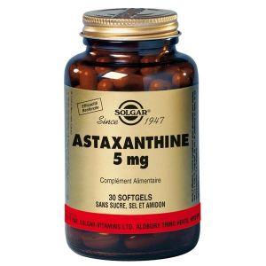 Solgar Astaxanthine 5mg - 30 gélules souples