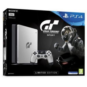 Sony PS4 Slim 1To Silver + Gran Turismo