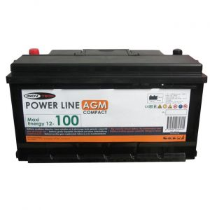 Inovtech Batterie 102Ah Power Line AGM 496192