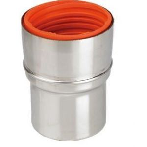 Ten 115080 - Raccord flexible-rigie inox 316 diamètre 80-86 pour chaudières condensation