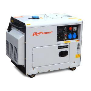 ITC Power DG7500SE - Groupe électrogène diesel insonorisé 6kW