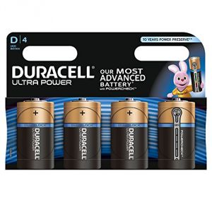 Duracell 4 piles D LR20 Ultra Power
