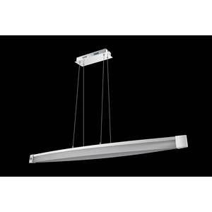 Wofi Lampe suspendue VANNES LED Chrome, 1 lumière