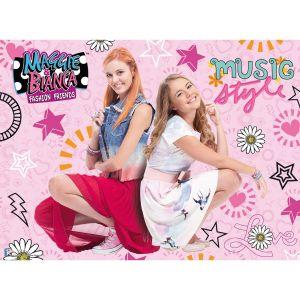 Ravensburger Maggie et Bianca Music Style - Puzzle 200 pièces XXL