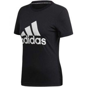 Adidas T-shirt W MH BOS T-NERA Noir - Taille 36,EU S,EU M,EU XS