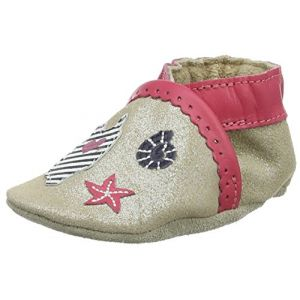 Robeez Beach Summer, Chaussons Bébé Fille, Marron