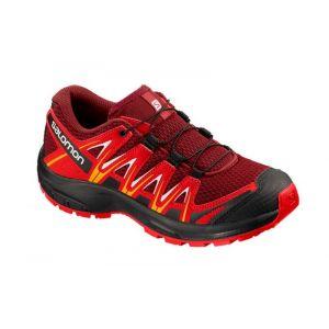 Salomon XA Pro 3D J, Chaussures de Trail Mixte enfant Rouge (Red Dahlia)33 EU