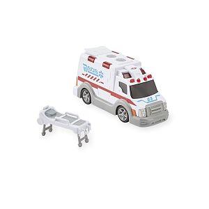 Fast Lane Ambulance miniature lumineuse et sonore