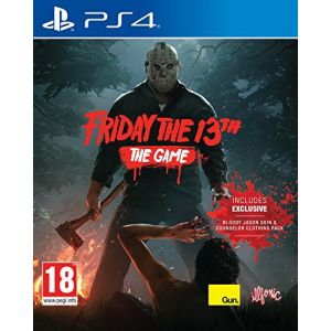 Friday The 13th The Game sur PS4