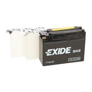 Exide Batterie moto YT4B-BS 12v 2.3ah 30A