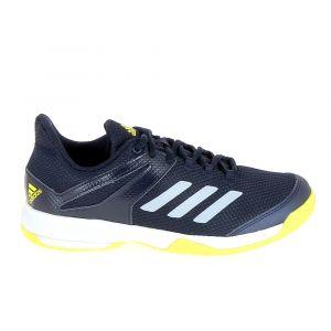 Adidas Chaussure de tennis adizero club k marine jaune 40