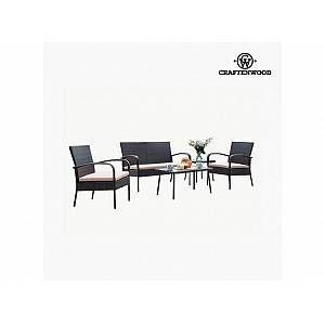 Craftenwood Ensemble Canapé + Table (5 Pcs)