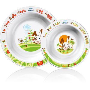 Philips Avent SCF708/00 - Set de 2 bols pour enfants de 6 mois et +