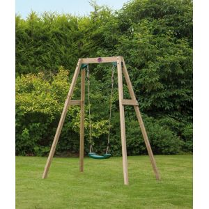Image de Plum Single Swing - Portique bois
