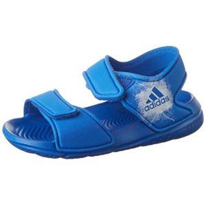 Adidas Altaswim, Sandales Mixte Enfant, Bleu (Blue/Footwear White/Footwear White 0), 24 EU