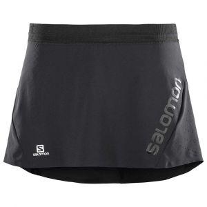 Salomon Lightning Pro - Short running Femme - noir M Collants & Shorts Running