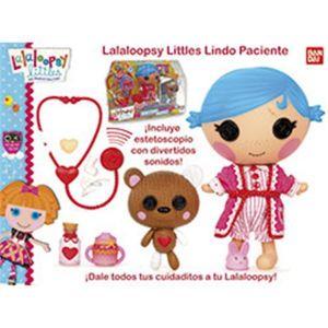 Bandai Lalaloopsy Littles Lindo Paciente (18 cm)