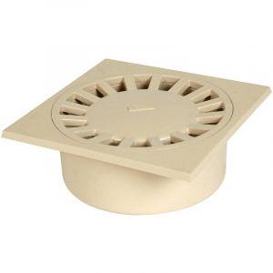 Nicoll Siphon de cour à emboîture incorporée verticale : M90-F80/100, sable