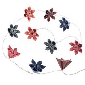 "Guirlande LED ""10 Fleurs"" 23cm Multicolore Prix"