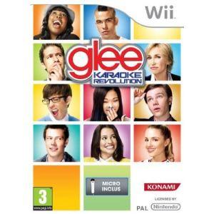 Glee Karaoke Revolution + Microphone [Wii]