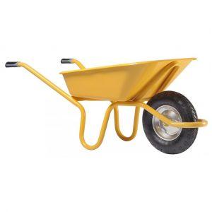 Haemmerlin Brouette Expert 100L peinte roue gonflée