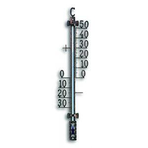 TFA Dostmann 12,5001,51 TFA Thermomètre extérieur Métal Noir