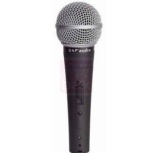 DAP-Audio PL-08S - Mic dynamique avec switch