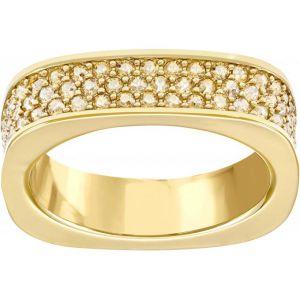 Swarovski Vio Gold - Bague carrée pour femme