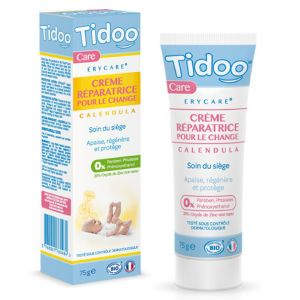 Tidoo Erycare Crème réparatrice pour le change au calendula bio