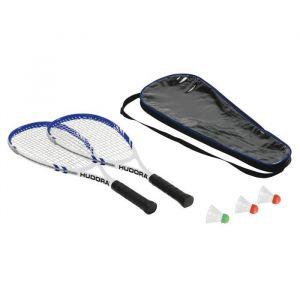 Hudora 75014 - Speed Hd-55 -Set de badminton - Mixte - Multicolore