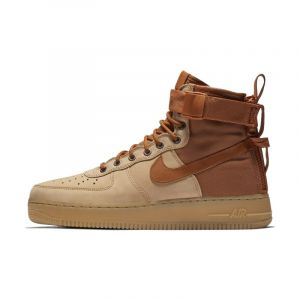 Nike Chaussure SF Air Force 1 Mid Premium - Homme - Marron - Taille 43